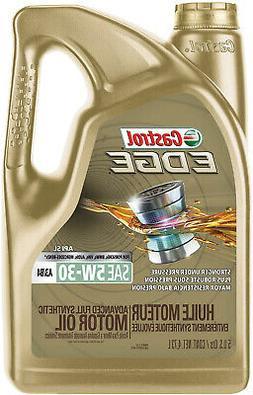 Castrol 03037 Edge 5W-30 A3/B4 Advanced Full Synthetic Motor
