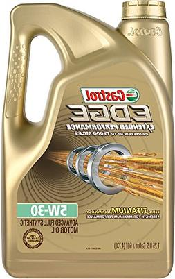 Castrol 03087 EDGE Extended Performance 5W-30 Synthetic Moto
