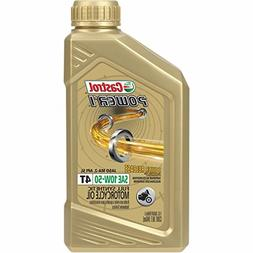 Castrol 06114 Power 1 Racing 4T Motorcycle Oil - 10W50 - 1qt