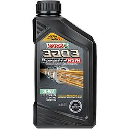 Castrol 06128 EDGE High Mileage 5W-30 Advanced Full Syntheti