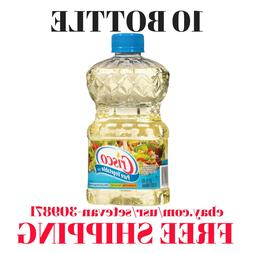 10 Bottle-Crisco Pure Vegetable Oil, 32 Ounce