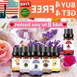 100% Pure Natural Aromatherapy Essential Oil 10ml Fragrance