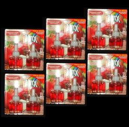 12 Xtra Scented Oil Refills Apple Cinnamon Fits Glade & Air