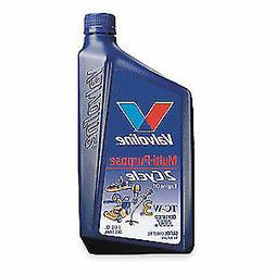VALVOLINE 2-Cycle Engine Oil,Synthetic Blend,1qt, 822384, Bl