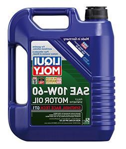 Liqui Moly 2024 Synthoil Race Tech GT1 10W-60 Motor Oil - 5