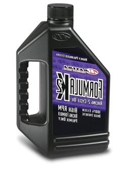 Maxima  Formula K2 2-Stroke Synthetic Premix Racing Oil - 64