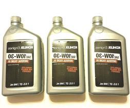 Bottles Of Kohler Engine Synthetic Blend 10W-30 Motor Oil 1