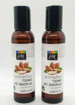 3 Pack - 365 Everyday Value, Sweet Almond Oil, 4 fl oz