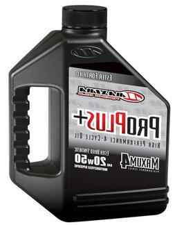 Maxima  Pro Plus+ 20W-50 Synthetic Motorcycle Engine Oil - 1