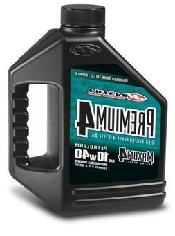 Maxima  Premium4 10W-40 Motorcycle Engine Oil - 1 Gallon Jug