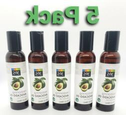 5 pack - 365 Everyday Value Restoring Avocado oil 4oz each,