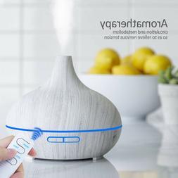 550ml Air Humidifier Purifier Essential Oil Aroma Diffuser A