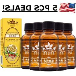 5PCS Ginger Oil New Arrival Plant Therapy Lymphatic Drainage