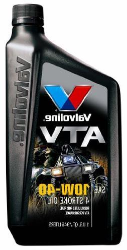 Valvoline Oil 817263 Valv QT 10W40 ATV Oil - Quantity 6