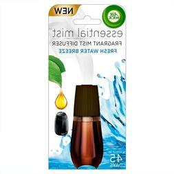Air Wick Essential Oils Diffuser Mist Refill, Fresh Water Br