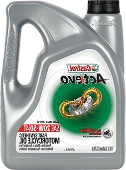 Castrol 03139 Actevo 20W-50 Part Synthetic 4T Motorcycle Oil