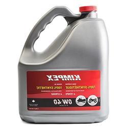 Kimpex 4-S100 0W40 Snowmobile/ATV Engine Oil 3.78 L / 0.79 G