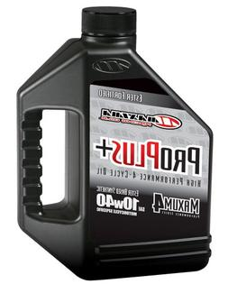 Maxima  Pro Plus+ 10W-40 Synthetic Motorcycle Engine Oil - 1