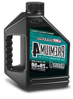 Maxima  Premium4 20W-50 Motorcycle Engine Oil - 1 Gallon Jug
