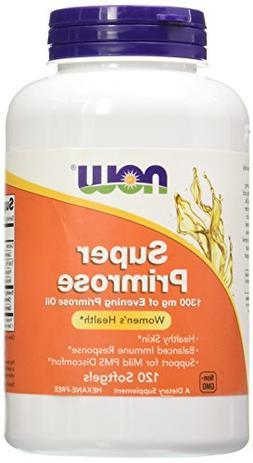 Now Foods, Super Primrose 1300 mg 120 Softgels
