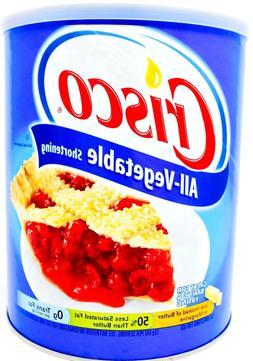 Crisco All Vegetable Shortening Original for Baking and Fryi