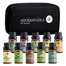 LAGUNAMOON™ Top 10 Pure Aromatherapy Essential Oils Set 10