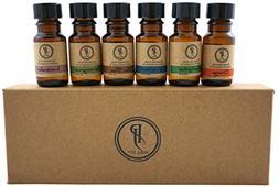 Pure Jolly Premium Aromatherapy Essential Oil Kit Top 6 Esse