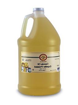 Aunt Patty's Organic Non Gmo Expeller Pressed Canola Oil, 12