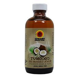 Tropic Isle Living Coconut Jamaican Black Castor Oil, 4 Ounc