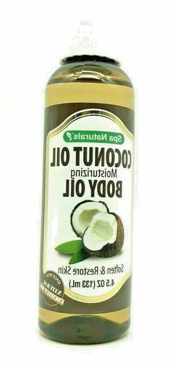 Spa Naturals Coconut Moisturizing Body Oil 4.5 oz.