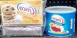 Crisco  Coconut oil, Vegetable oil,  shorting & Spray