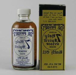 Dr. Pryor's 7 Holy Spirits Hyssop Bath Oil 4FL. OZ. Indio Pr