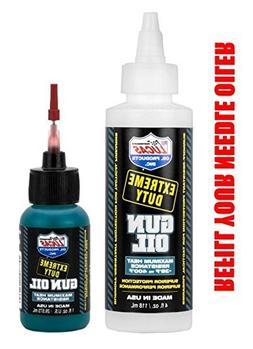 LUCAS Extreme Duty REFILL 4oz Gun Oil 10877 & 1oz Needle Oil