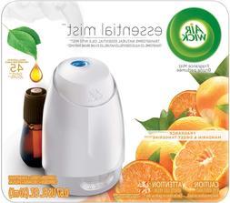 Essential Mist Oil Diffuser + 1 Refill, Mandarin & Sweet Tan