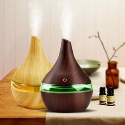 Essential Oil Aroma Diffuser LED Ultrasonic Humidifier Aroma