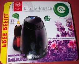 Air Wick Essential Oils Diffuser Mist Kit , Lavender & Almon