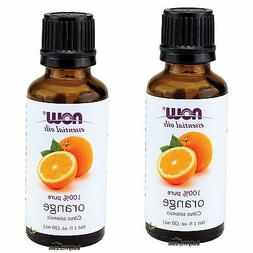 NOW Essential Oils Orange Oil -1 fl.oz 30 ml-100% pure Arom