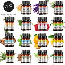 Essential Oils Pure 20ml Set Aromatherapy Rose Sandalwood Ja