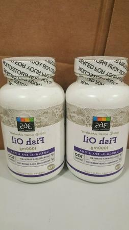 365 Everyday Value, Fish Oil, 100 ct *PACK OF 2*