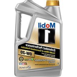 Mobil 1 Extended Performance 0W-20 Full Synthetic Motor Oil,