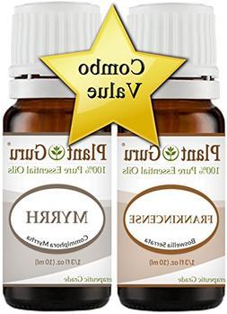 Frankincense and Myrrh Essential Oil 10 ml. 100% Pure Undilu
