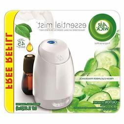 Air Wick Fresh Cucumber Fragrance Essential Mist with Free R