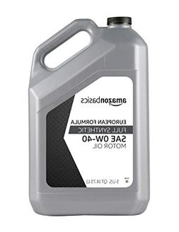 AmazonBasics Full Synthetic Motor Oil - Euro Formula for Tur