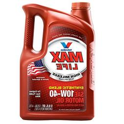 Valvoline High Mileage with MaxLife Technology 10W-40 Synthe