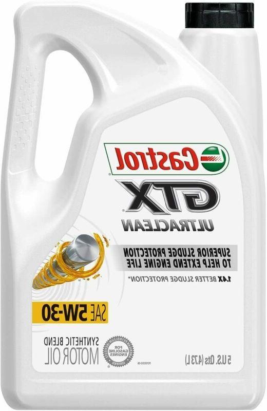 03096 gtx 5w 30 conventional motor oil