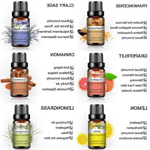 Aromatherapy Natural Pure Fragrances 10ml US