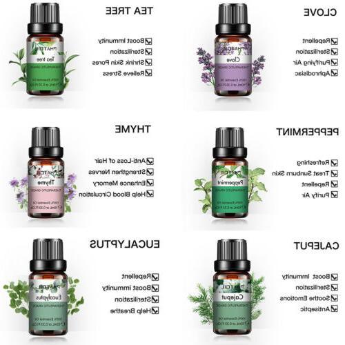 Aromatherapy Natural Pure Fragrances 10ml