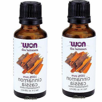 NOW Cinnamon Cassia Oil, 1-Ounce