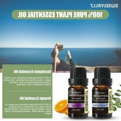 37set Essential Oils Pure Natural Aromatherapy 10ml Fragrance Aroma