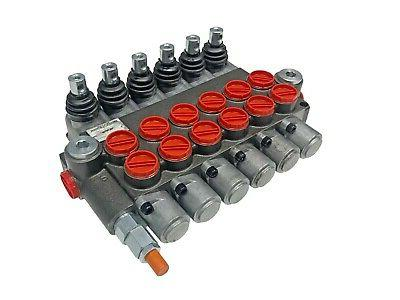 6 Hydraulic Valve Double Acting GPM 3600 Ports